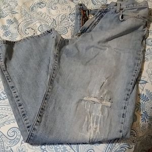 Lucky Brand Distressed Jeans 36
